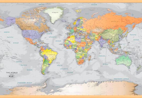 χάρτης με πηχάκια