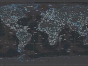 μοντέρνος παγκόσμιος χάρτης