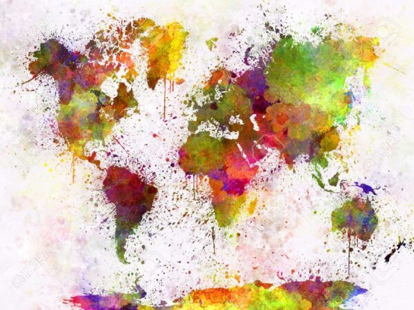 χάρτης υδατογραφία