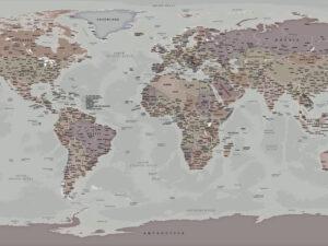 χάρτης ταπετσαρία