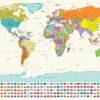 παγκόσμιος χάρτης Αγγλικά