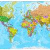 Παγκόσμιος χάρτης λεπτομερής