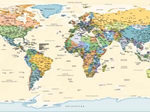 Παγκόσμιος χάρτης τοίχου